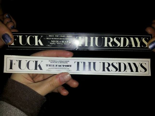 Thursdays at Factory