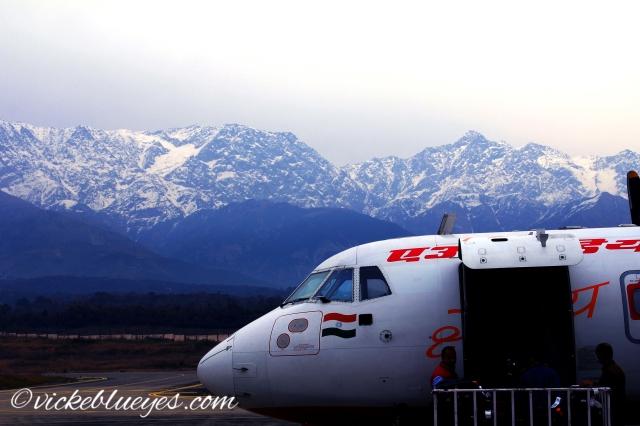 Flying to Dharamshala