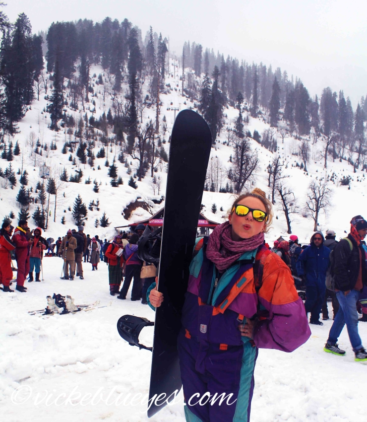 Snowboarding in India