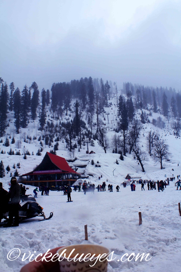Masala Chai by the slopes