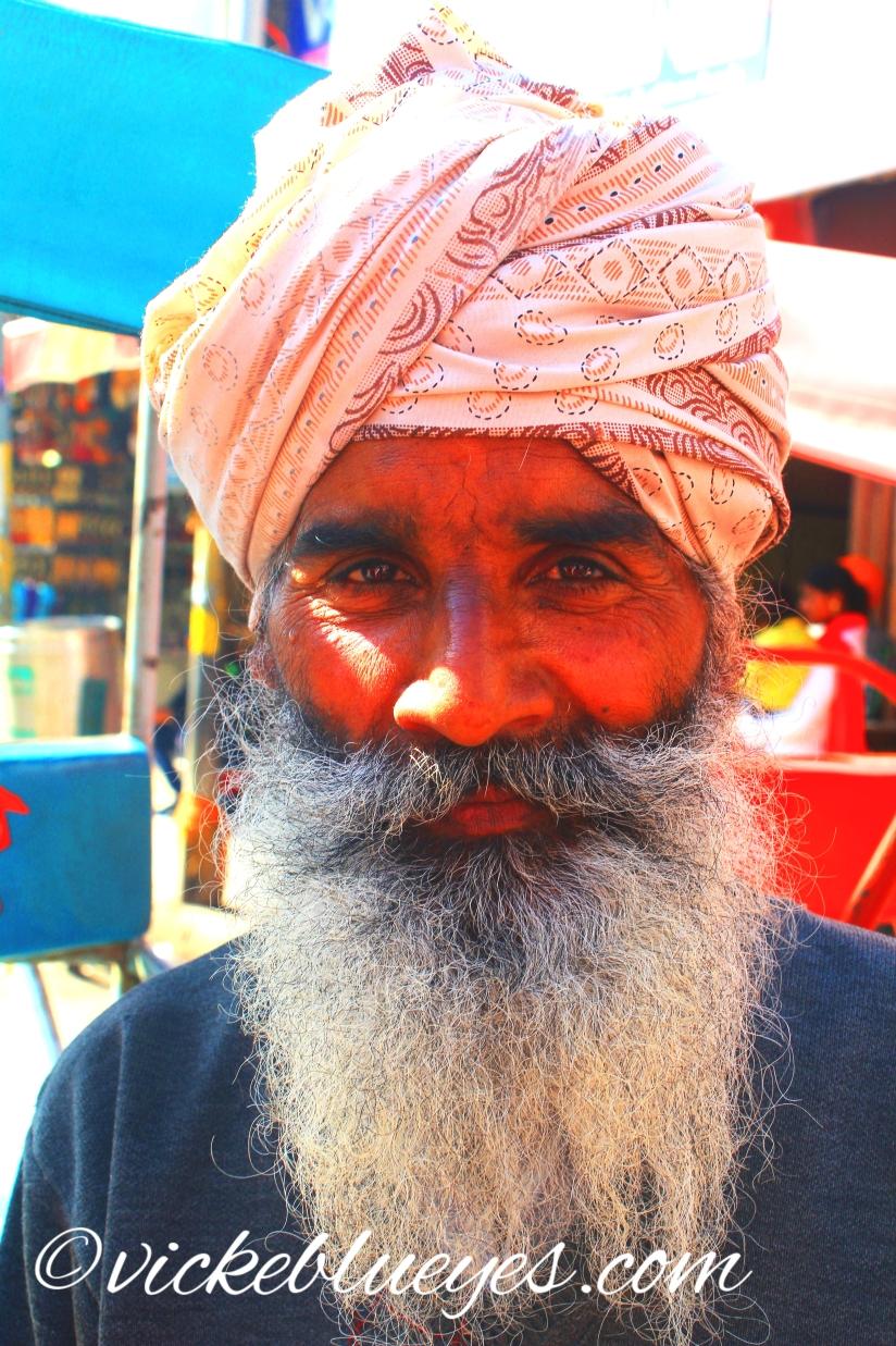 impressive beard!