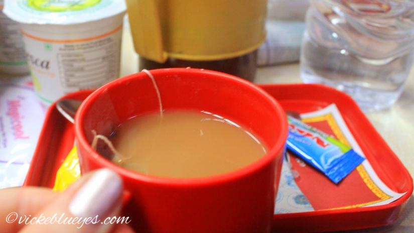 tea en route