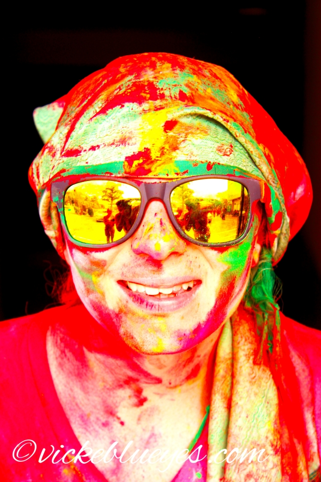 Holi Close Up