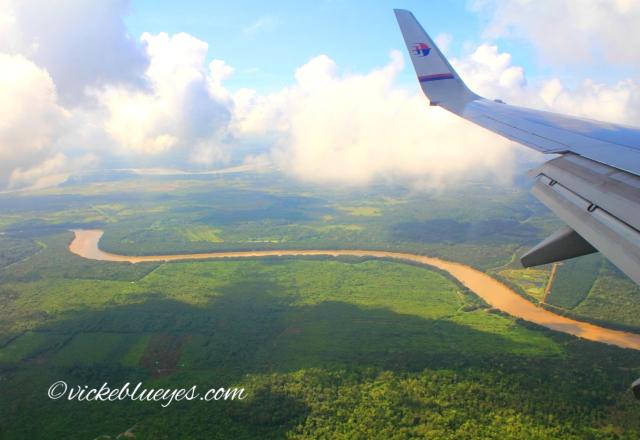 View over Sarawak