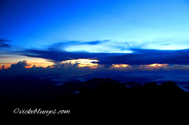 Top of Mt Kinabalu