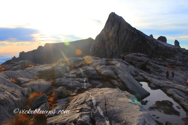 View over Mt Kinabalu