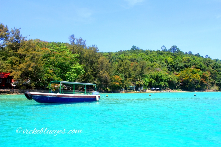 Islands off KK