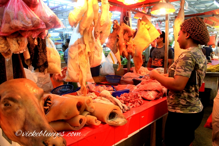 Meat from the meat market