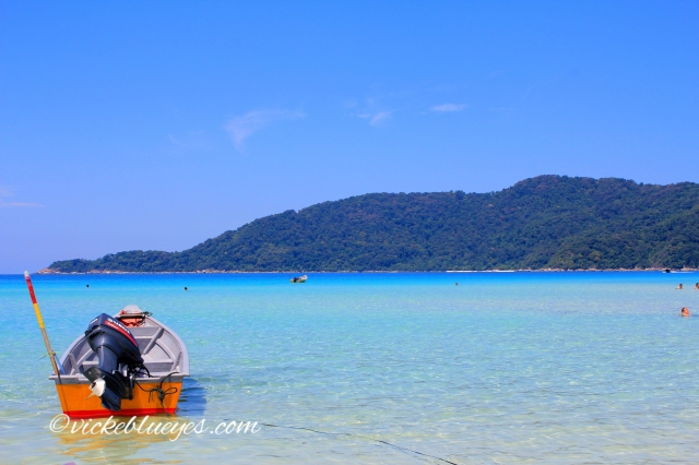 Long Beach in Perhentian Islands