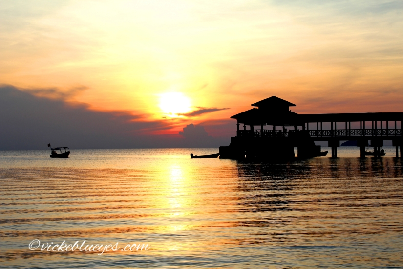 Sunset at Coral Beach