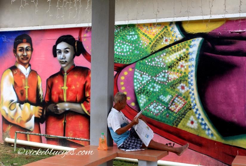 Street Art in Malacca