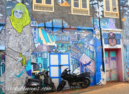 Art in Fort Cochin