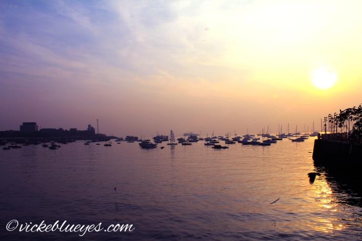 Sun Rise over the Docks