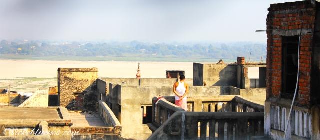 Morning View in Varanasi