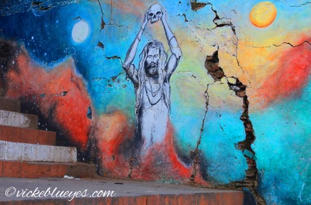 Street Art of the Evil Side of Holy Men