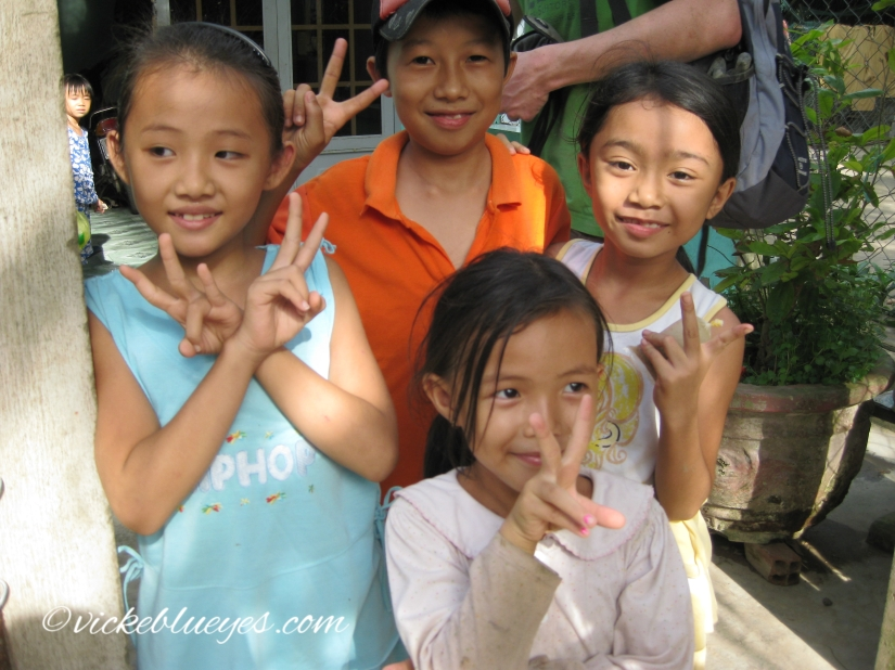 Kids in Mekong