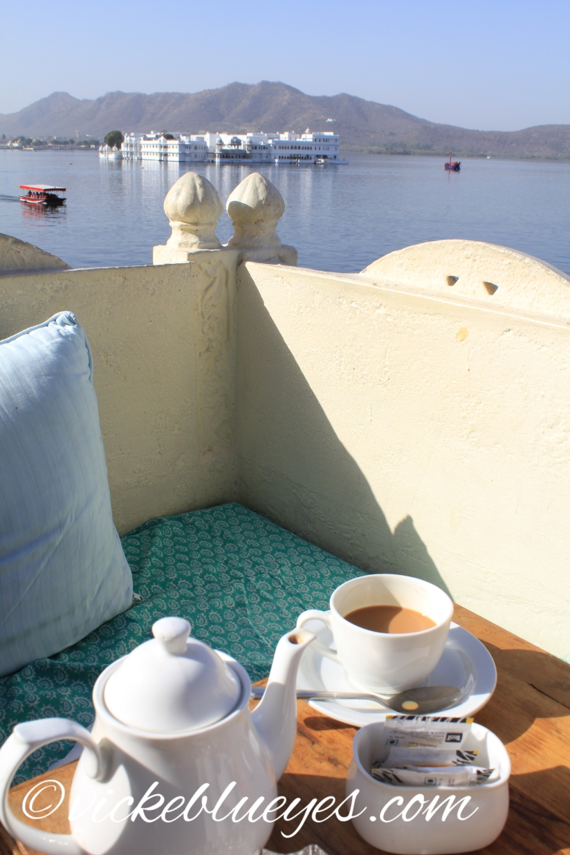 Masala Chai with a view