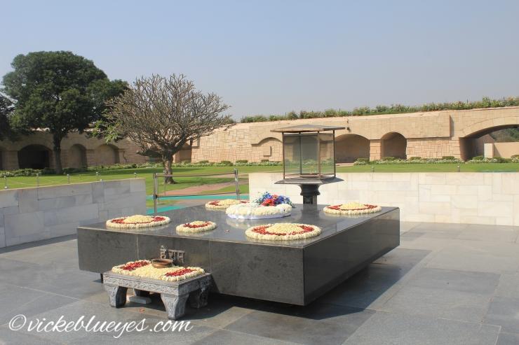 Gandhi's tomb
