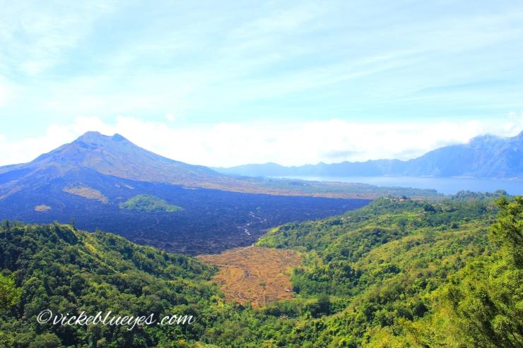 Volcanoes in Bali