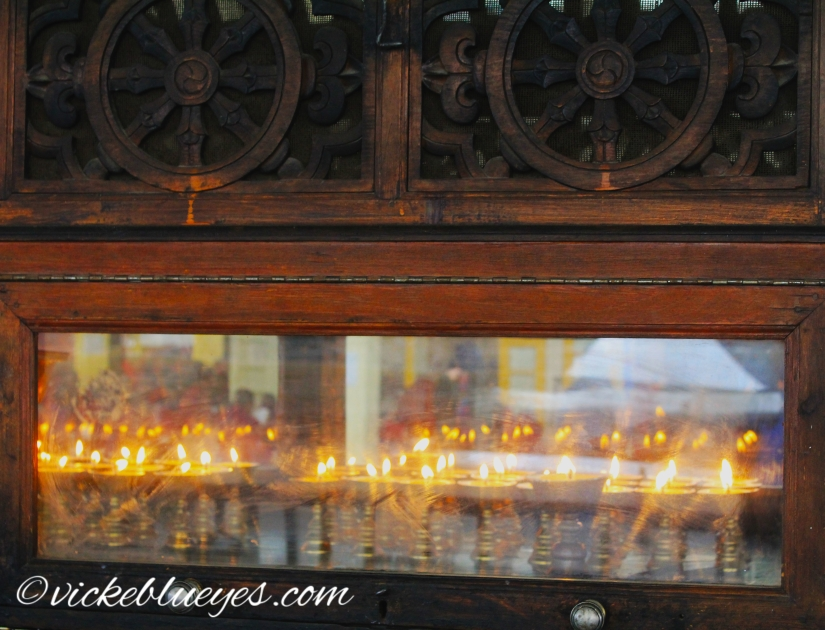 Candles and Monks