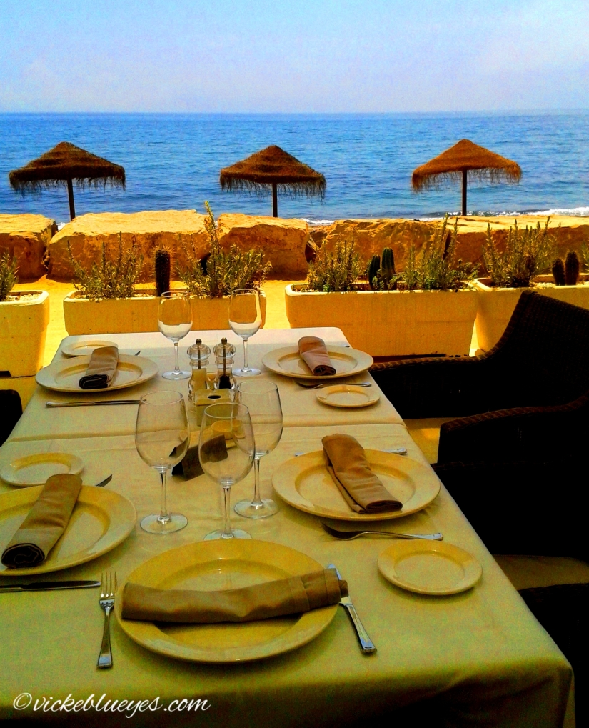 Lunching in Marbella