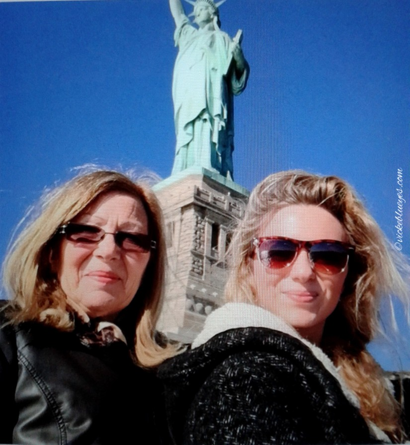 Statue of Liberty with My Mum NYC