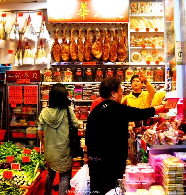 Inside The Shop in HK