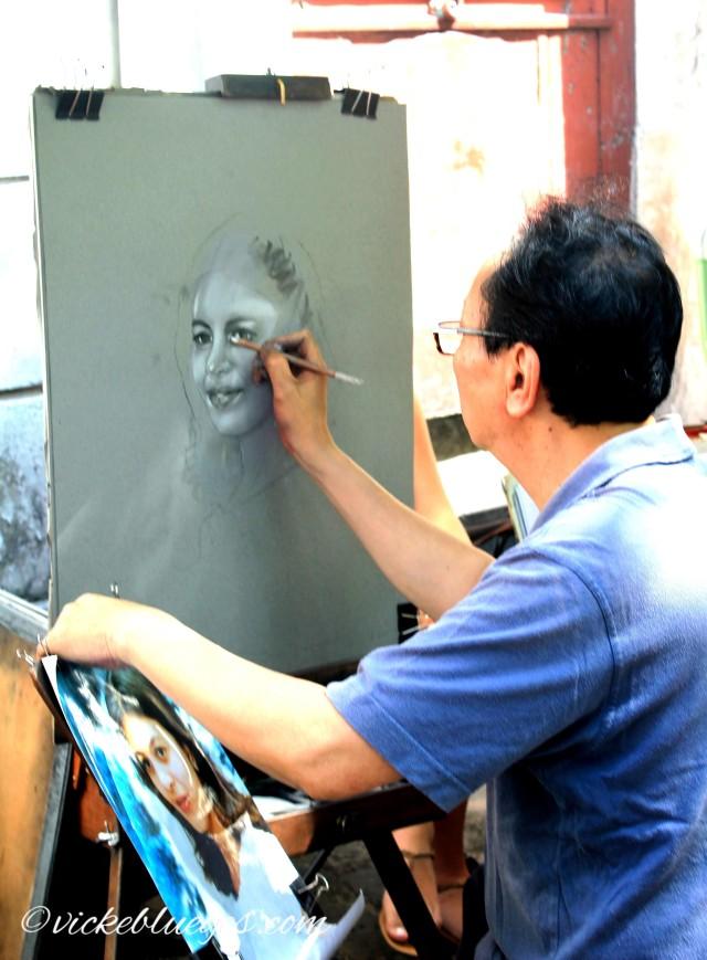 Painting in Montmatre