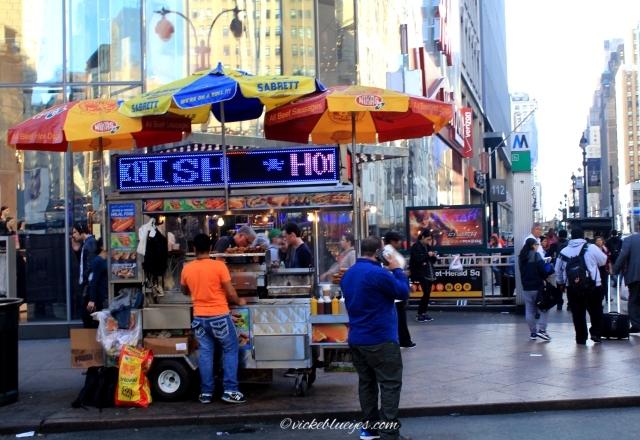 Life from a Hotdog Stand, NYC
