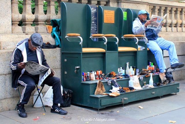 Shoe Shiners, NYC
