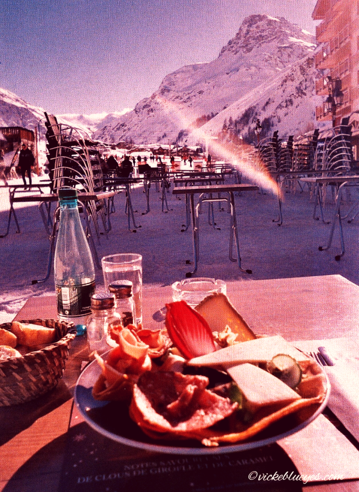 Lunching on the Piste